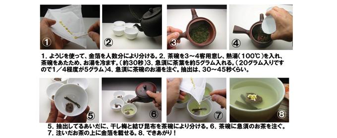 大福茶の作り方