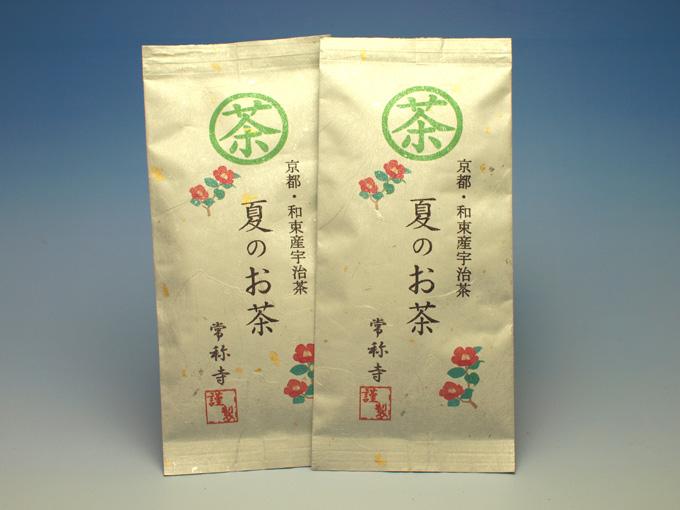 お寺のお茶