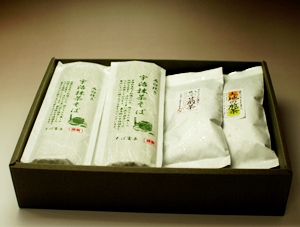 抹茶そばとお茶【早緑(さみどり)】