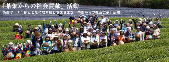 「茶畑からの社会貢献」活動 目次