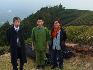 【茶畑訪問】島田昭彦さんが和束・茶畑を訪問